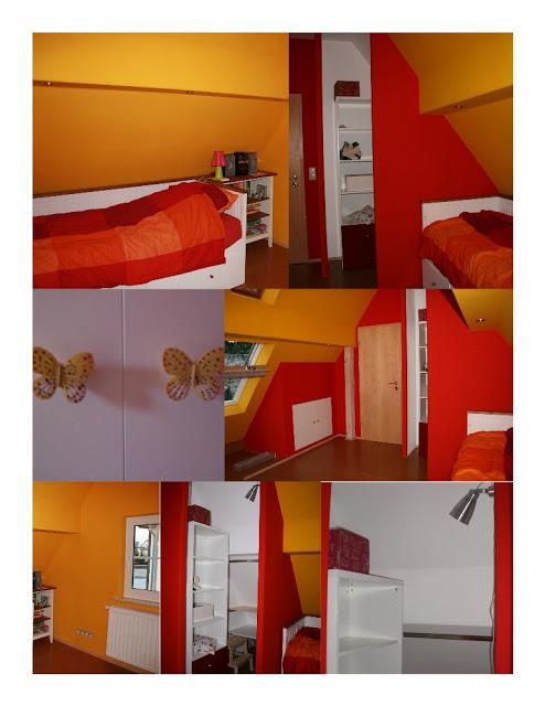 Wie man aus einem kleinen Zimmer mit Dachschrägen ein buntes Kinderparadies macht