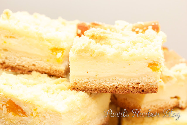 Pearl's Harbor Blog: Rezept für Mandarinen-Käse-Streusel