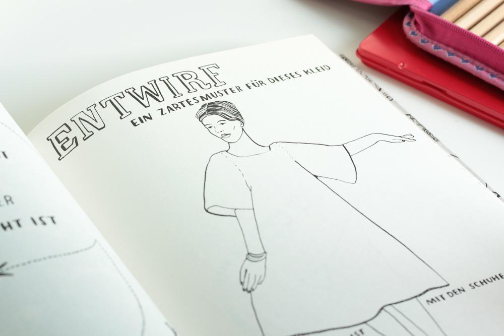Designbuch für angehende Modedesigner / Malbuch auf Pearl's Harbor Blog