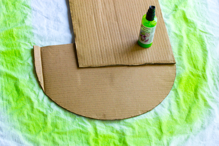 Marabu Fashion Spray grün. Textildesign auf Pearl's Harbor Blog