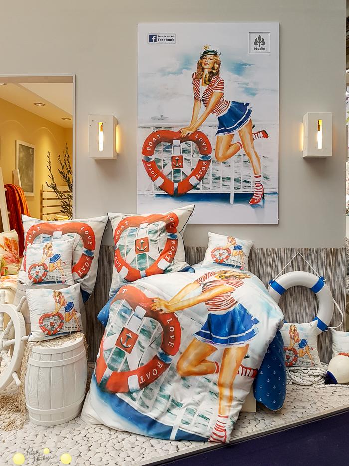in schöner Bettwäsche schläft es sich besser: Digitaldruck und großflächige Prints sind im Trend.