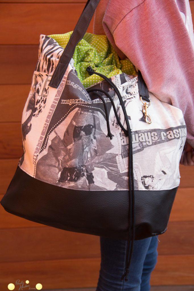 """Farbenmix Tasche """"Packs ein"""""""
