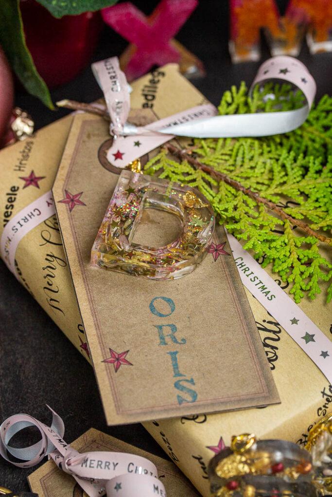 Geschenkpapier und Labels selbst drucken