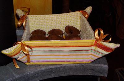 Brotkörbchen für Ostern