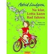 Na klar, Leila kann Rad fahren!