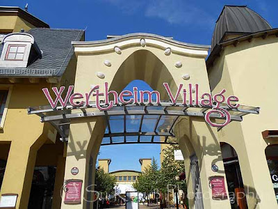 Shopping King im Wertheim Village