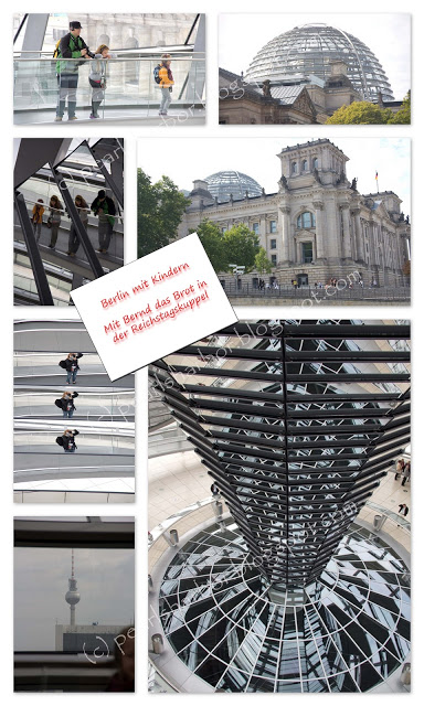 Berlin mit Kindern {Part IV} – Mit Bernd das Brot in der Reichstagskuppel