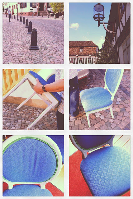 Alten Stuhl neu beziehen: Armulettstuhl vom Trödel bekommt einen neuen Bezug