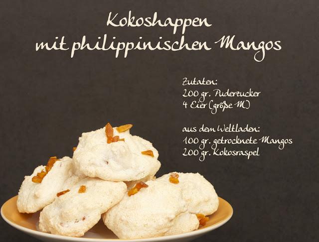 In der Weihnachtsbäckerei: Kokoshappen mit philippinischen Mangos {Rezept}