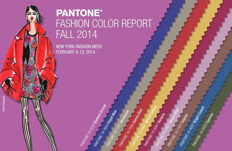 Pantone Fashion Report 2014 – Der Herbst ist da! {kleiner Fashionreport}