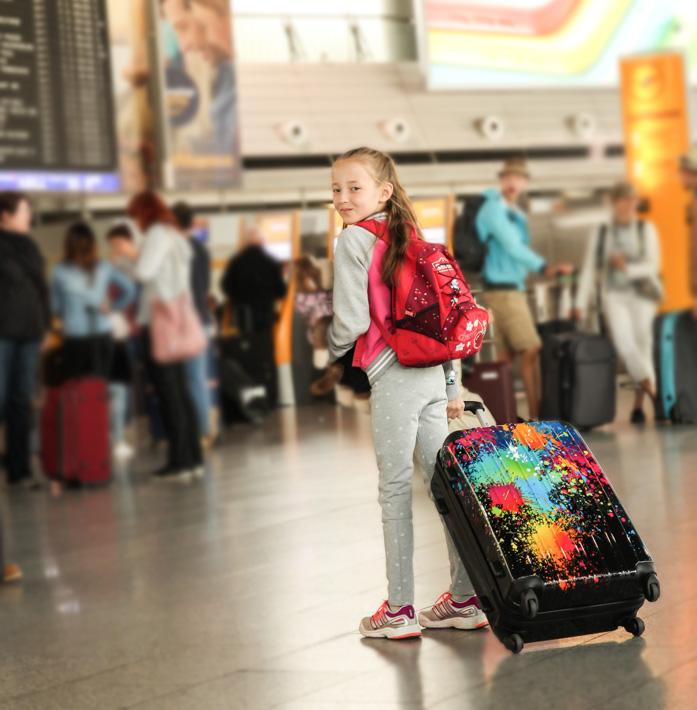 London mit Kindern und ein verlorener Koffer auf dem Hinflug