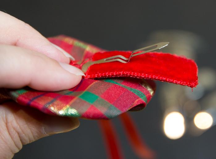Geschenkanhänger, Haarspangen oder Blumenstecker für Weihnachten…