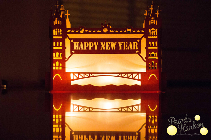 Die Tower Bridge als Windlicht zum Start ins Neue Jahr