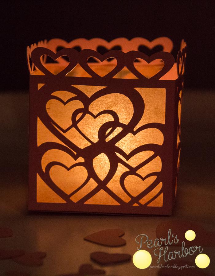 Ein Windlicht zum Valentinstag {Freebie}
