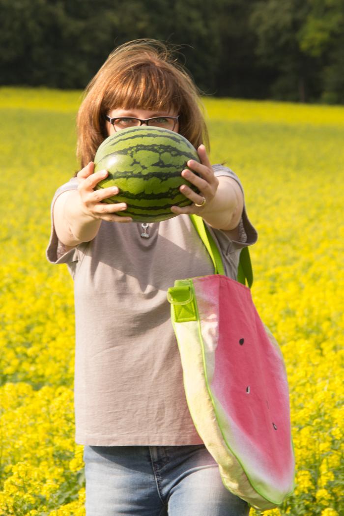Ich habe eine Melone getragen {DIY-Anleitung}