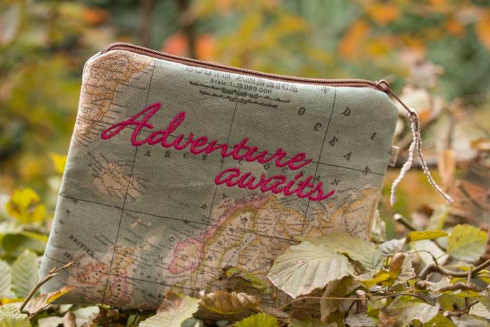 Abenteuer erwartet? Mit dem Stoff auf großer Tour…