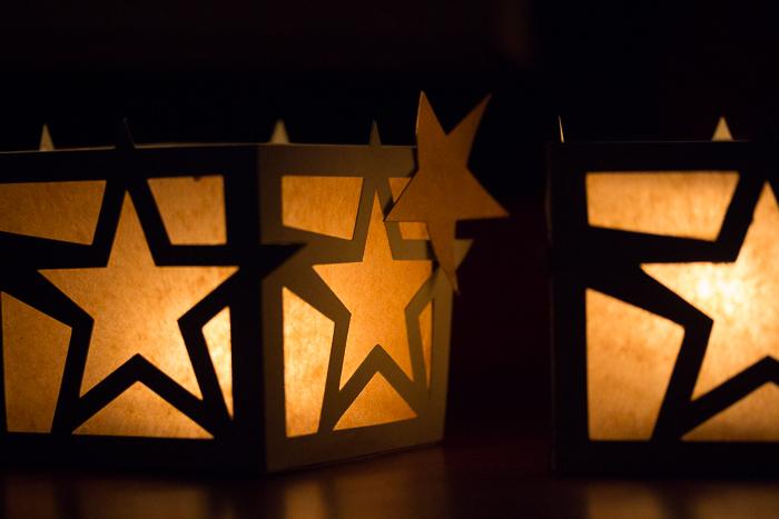 …dann stell ich mir vor, dass du ein Stern am Himmel bist!