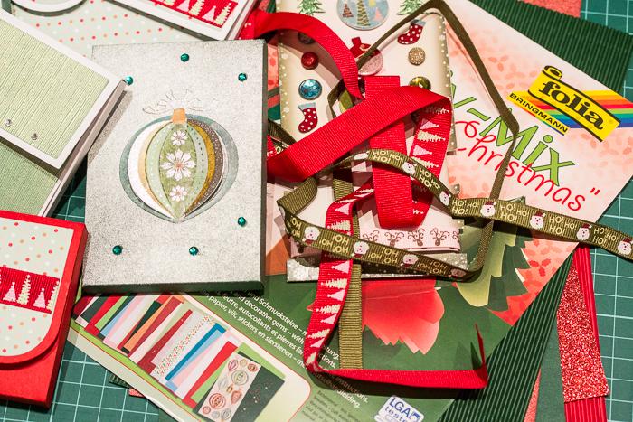 Verpackung für Kleinigkeiten / Adventskalender to Go mit dem Plotter