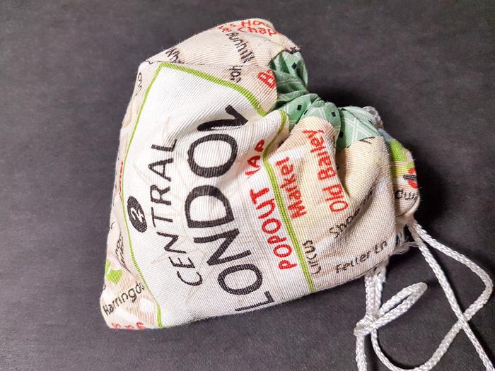 Herztasche als Geschenkverpackung – DIY-Nähen – Anleitung