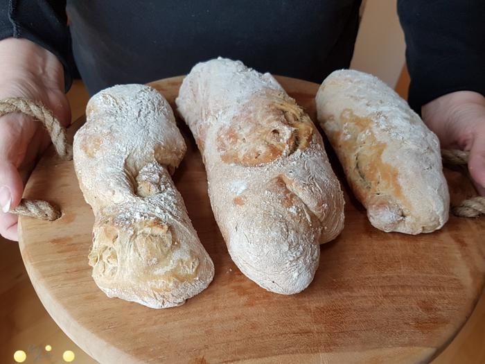 Ich back mir mein Brot selbst: Chiabatta für Anfänger