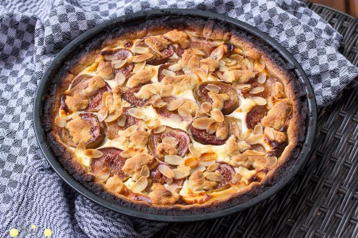Cheesecake mit Feigen oder Feigentarte Rezept