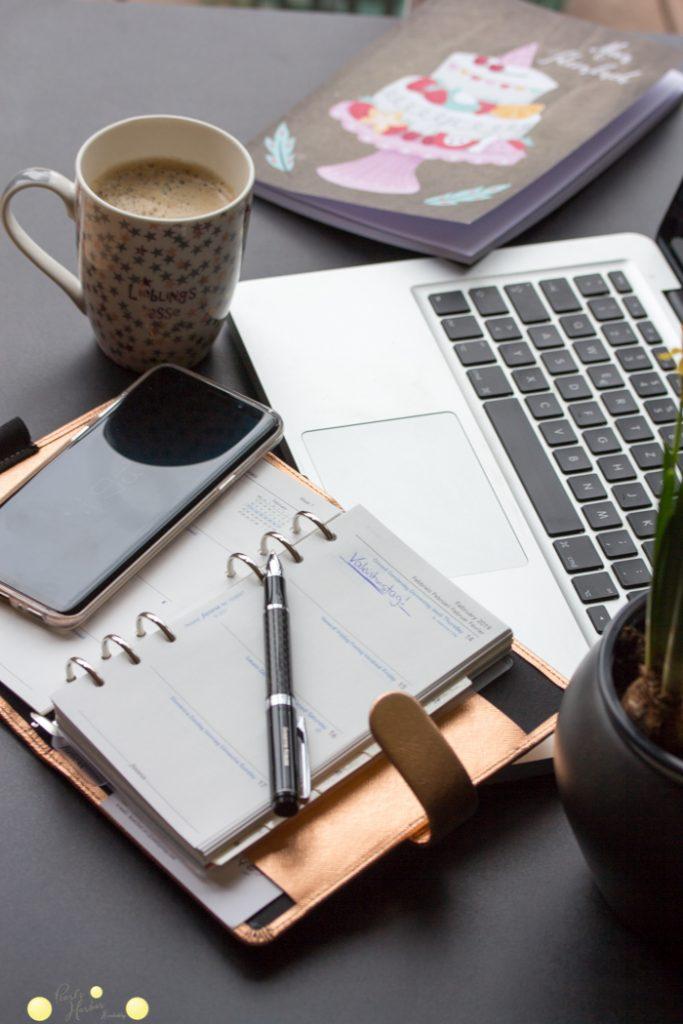 Filofax, Handy und Notizbücher organiseren das Leben