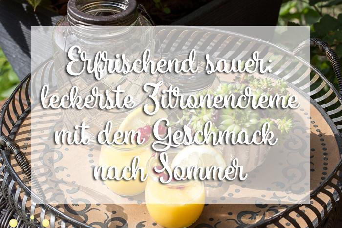 Herrlich sauer und erfrischend: Das Sommerdessert 2019