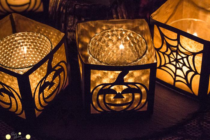 Halloween Windlicht Plotterdatei