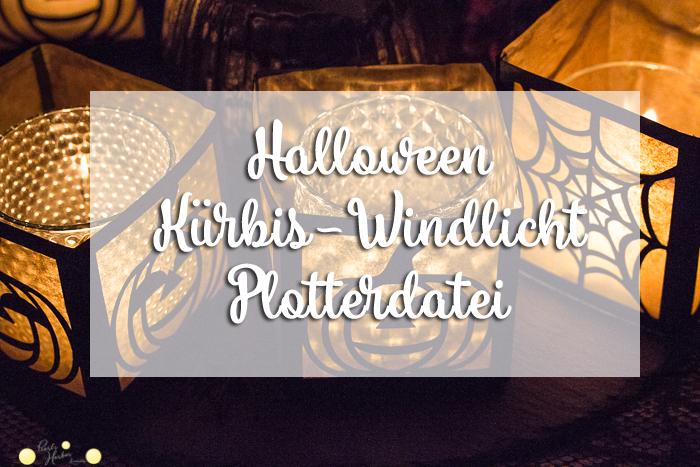 Halloween-Windlicht Plotterdatei