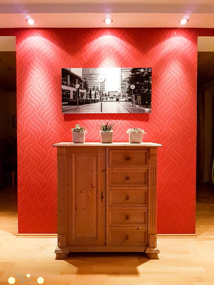 Raumteiler zwischen Esszimmer und Wohnzimmer. Altbau. Wand entfernen.