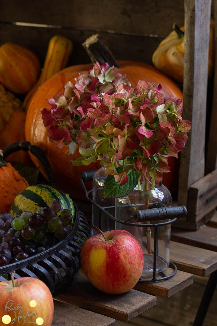 Herbstdeko Erntedank Wir feiern den Herbst