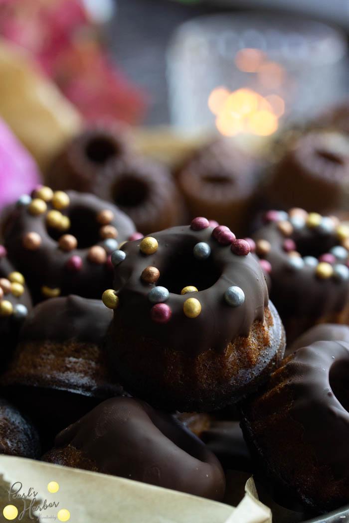Minigugel mit Schokolade