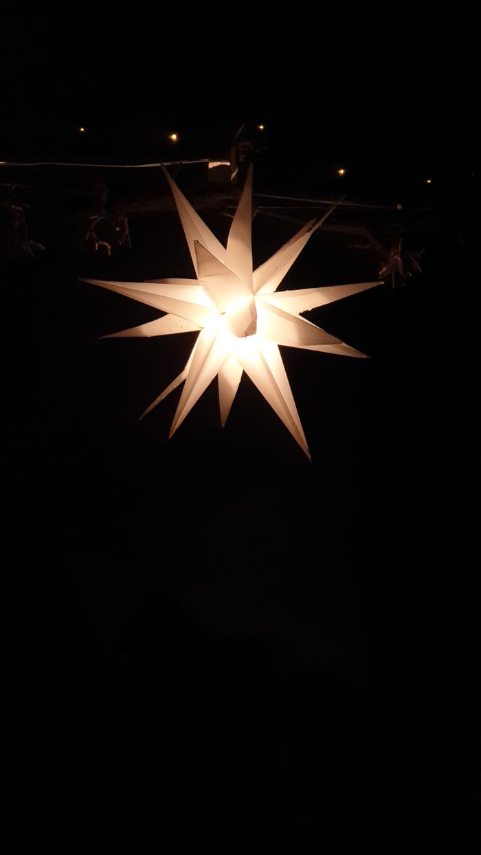 Außenbeleuchtung Weihnachten