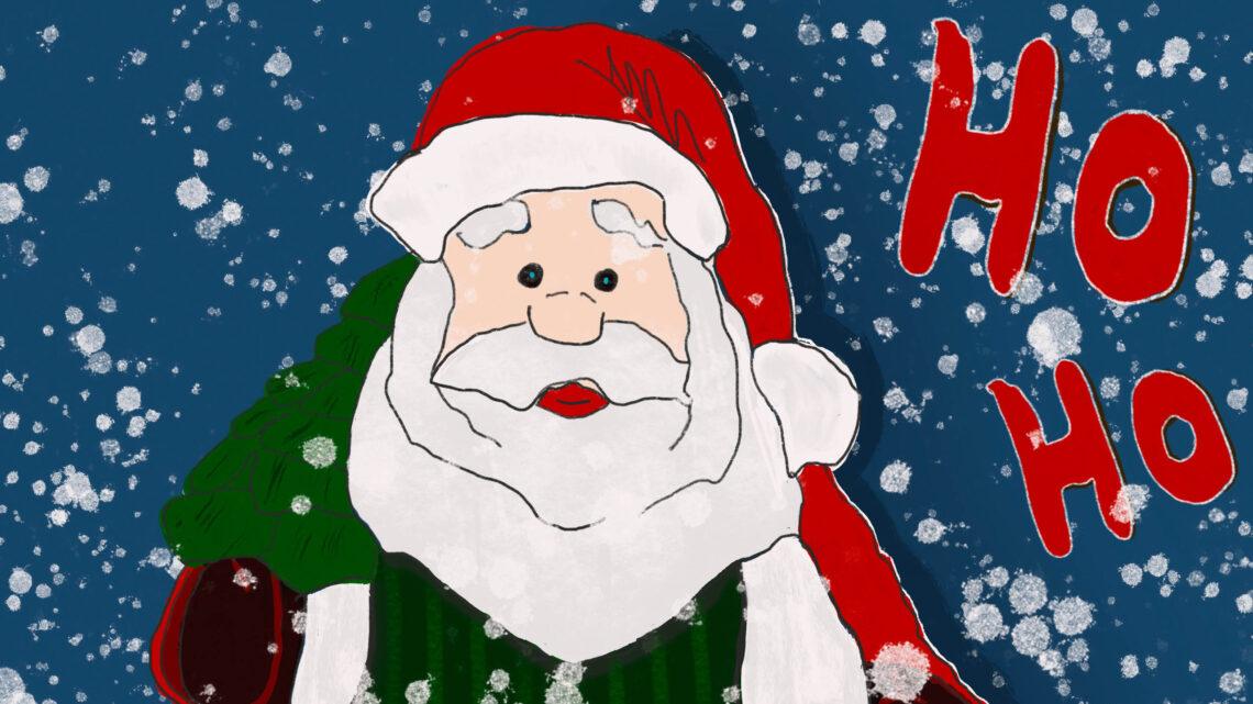 Frohe Weihnachten – Weihnachtskarte Freebie zum Download